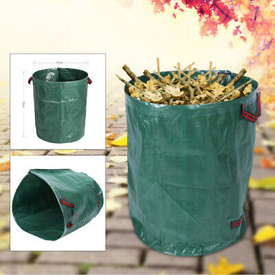 2X Garden Recycling Rubbish Lawn Bag Waste Leaf Bag 72 Gallons 76CM Cotton Blend