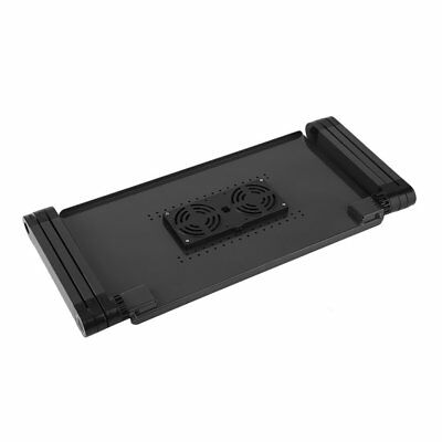 Portable Laptop Stand Desk Table Tray on sofa bed Mouse T8 With 2 Cooling ON