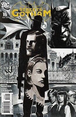 BATMAN STREETS OF GOTHAM 16...VF/NM...2010...House of Hush...Bargain!