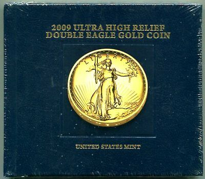 Book for 2009 Ultra High Relief Double Eagle Gold Coin -  Mint-Sealed New!