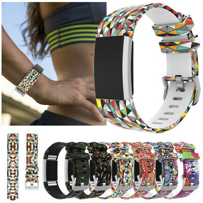 SPARE For Fitbit Charge 2 Smart Watch Bands Strap Bracelet Wrist Watch Silicone