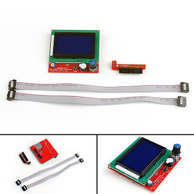 RAMPS1.4 LCD12864 Full Graphic LCD Display Smart Controller For 3D Printer AU