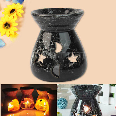 Ceramics Fragrance Oil Burner Lavender Aromatherapy Scent Candle Melt 1 x