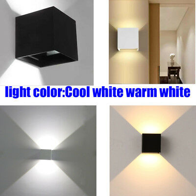 LED Wall Light Lamp 12W Cool/warm white Exterior Families Sconce light Lamp Wall