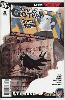 BATMAN STREETS OF GOTHAM 3........VF/VF+.......2009.......Paul Dini.....Bargain!