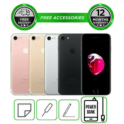 Apple iPhone 7  32GB 64GB 128GB All Colours Unlocked Smartphone