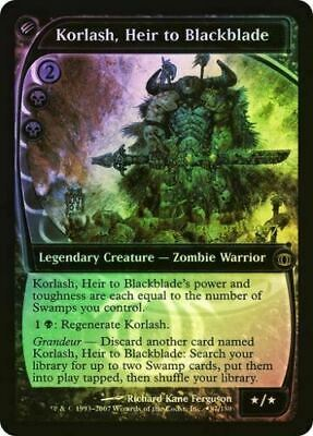 Korlash, Heir to Blackblade FOIL PreRelease ~ Future Sight ~ Excellent+ ~ MTG
