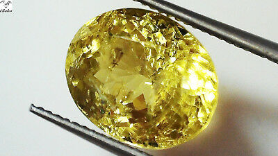 1x Sphene - Oval facettiert 7,0x8,7x5,0mm 2,48ct. (1788)