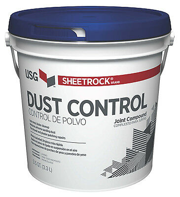 Joint Compound With Dust Control, 1 Gal. Pail, Gypsum, 384014