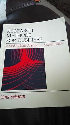 Research Methods for Business: A Skill-building Approach by Uma S. Sekaran...
