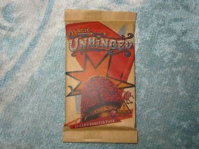 *NEU & OVP* Unhinged Booster - MTG - Magic The Gathering - englische Sprache
