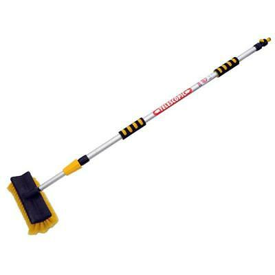 Telescopic Extendable Water Fed Wash Brush for Vans Cars Windows - CT1697