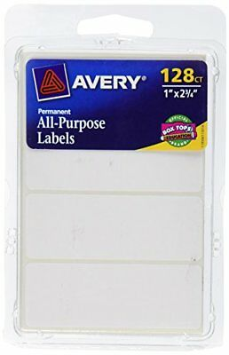 White Labels Stickers Write Pack Paper Removable Printable Small Label 1008 Pack
