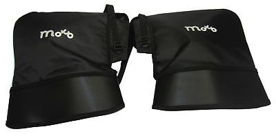 Motorcycle Scooter Moped Waterproof Handlebar Muffs With Inner thermal Lining
