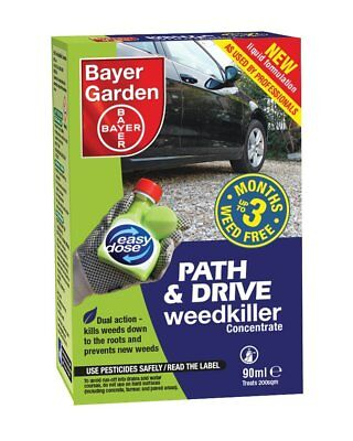 BAYER Path & Drive Weedkiller Concentrate 90MI professional Glyphosate