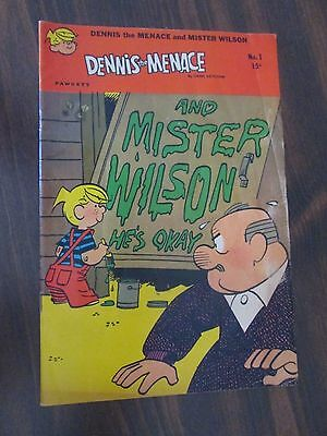 Dennis The Menace and Mr. Wilson #1 (October 1969 Fawcett Comics)