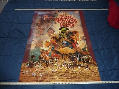 "THE MUPPETS - MUPPET TREASURE ISLAND (1996) Two Sided Original 27"" x 40"" Poster"