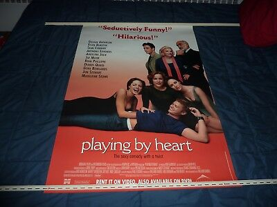 "PLAYING BY HEART (1998) Jon Stewart, Sean Connery & Angelina - 27"" x 40"" Poster"