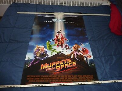 """THE MUPPETS: MUPPETS FROM SPACE (1999) 27""""x40"""" - Double Sided Theatrical Poster"""