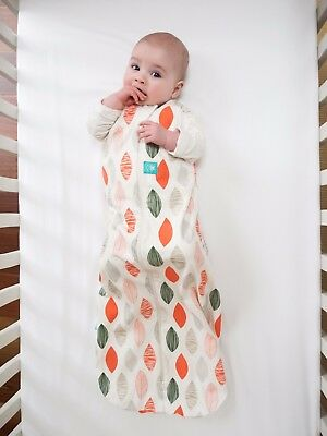 ergoPouch Organic Baby Swaddle: 0.2 Tog 3-12 months LEAF (£24.99 RRP)