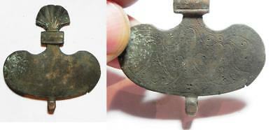 Zurqieh -As2250- Ancient Egyptian Bronze Item. Probably Part Of A Harness 600 B.