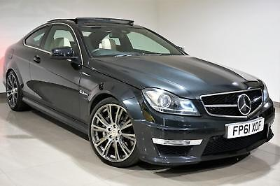 Mercedes-Benz C63 AMG 6.3 7G-Tronic AMG Edition 125 520bhp - FMBSH -Rare Colour