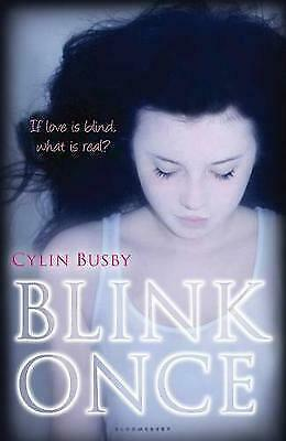 The Blink Once by Cylin Busby (Paperback) New Book