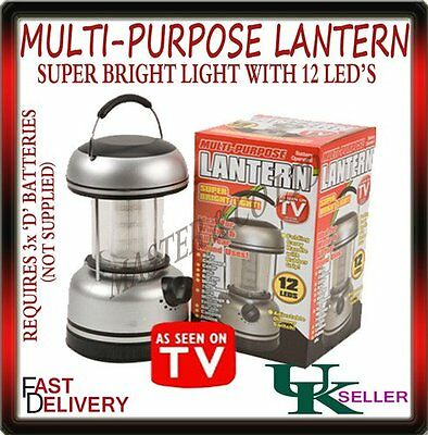 Multi Purpose Garden Outdoor Indoor Camping Lantern Battery Operated Led Light