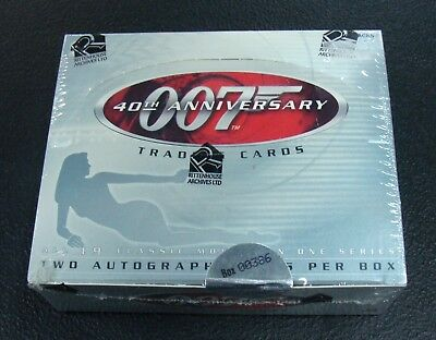 Rittenhouse Archives 007 40th Anniversary Trading Cards Hobby Factory Sealed Box