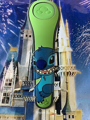Green Stitch MagicBand Magic Band 2 Disney Parks *Link It Later*