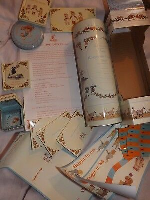 Kate Greenaways Nursery Rhymes Baby Time Keepsake Capsule Gift,New in box,Cute