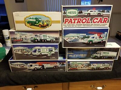 Hess Trucks Lot of 15 1982-2011 REDUCED!
