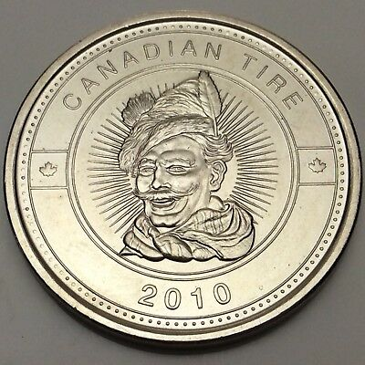 2010 Canadian Tire CTC 1 One Dollar First Issue Coin D667