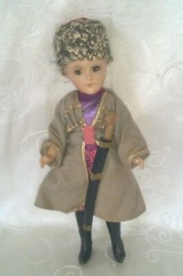 """Vintage Composition R & B Arranbee Russian Soldier Doll 11"""" $44.44"""
