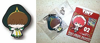 Magic Knight Rayearth TINY Rubber Strap 02 Ascot Fragments CLAMP Licensed New