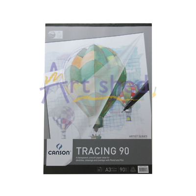 Canson Tracing Paper Pad A3 90gsm 50 Sheets