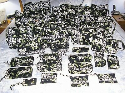 Vera Bradley Jasmine CLEARANCE Purses/Duffels/Wallets/Cosmetic Cases & Lots More