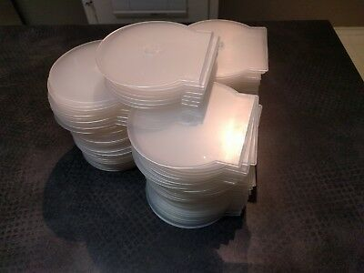 98 DVD CD Plastic Clamshell Cases FREE USPS Priority Mail Shipping