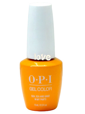 OPI GelColor New Gel Nail Polish Soak-Off L23- Sun, Sea and Sand In My Pants
