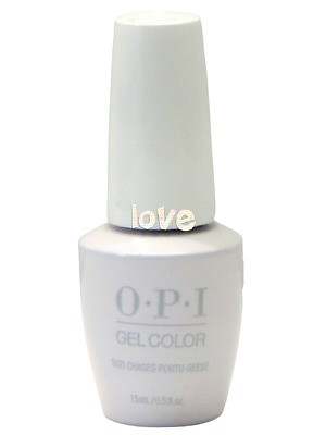 OPI GelColor New Gel Nail Polish Soak-Off L26- Suzi Chases Portu-Geese