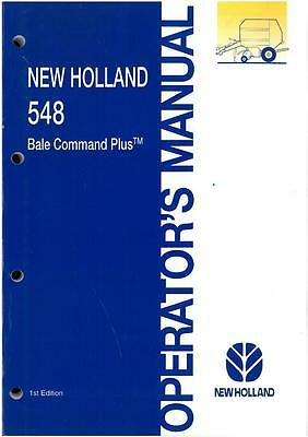 new holland bale command operators manual for round baler 835 848 rh picclick co uk New Holland TN65 Manual New Holland Manuals S185