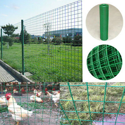Metal Bilateral Farming Low Carbon Steel Wire Mesh Fence Protective Net Green