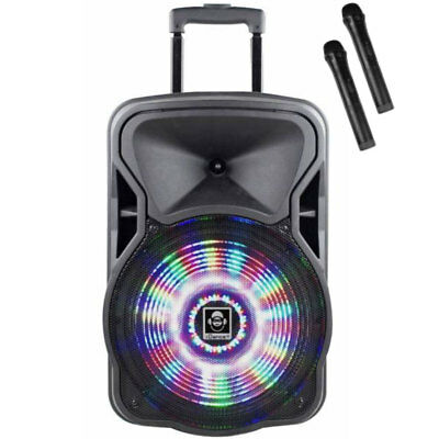 iDance Groove 420 500W Speaker Loud Speaker Party System with Microphones