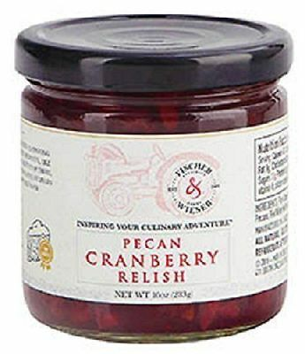 Fischer & Wieser Specialty Foods Pecan Cranberry Relish 10oz. Limited Edition