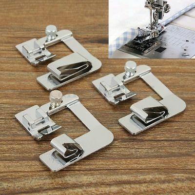 AU Stock Rolled Hem Foot Home Sewing Machine Hemming Cloth Strip Presser Feet