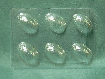 MINI EASTER EGG CHOCOLATE MOULD / MOLD 6 impression- cake decorating. Made in UK