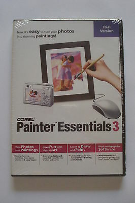 - COREL PAINTER ESSENTIAL 3 ( Windows & Mackintosh) NEW SEALED [Software]