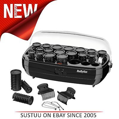 Babyliss 3045 Thermo Ceramic Hair Rollers Set│Fast Heat Up│Clips & Metal  Pins│