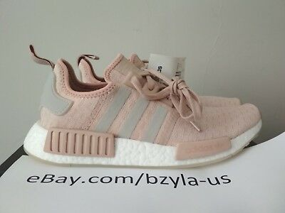 26f0abf2d Adidas NMD R1 Runner W Nomad Women s Ash Pearl Chalk Pink 3M White CQ2012  Boost