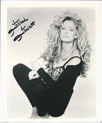 "HAND SIGNED-Farrah Fawcett 8"" X 10""  Matt Finish Publicity Photo-#635"